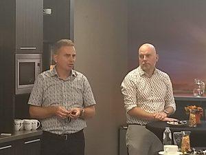 Erwin Simons en Peter Bogers